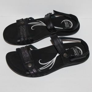 Abeo B.I.O. system Women 9.5 sport sandals Black